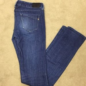 Express Dark Wash Skinny Jeans sz. 2 Long